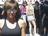Picture Shows: Amelia Hamlin, Delilah Hamlin, Lisa Rinna, Cameraman  July 03, 2015\n \n Actress and reality star Lisa Rinna is spotted filming in Studio City, California with her daughters Delilah and Amelia. Fans of 'The Real Housewives of Beverly Hills' are wondering if Lisa will be back for a second season.\n \n Exclusive All Rounder\n UK RIGHTS ONLY\n FameFlynet UK © 2015\n Tel : +44 (0)20 3551 5049\n Email : info@fameflynet.uk.com