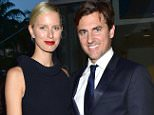 Mandatory Credit: Photo by ddp USA/REX Shutterstock (4778700l).. Karolina Kurkova and Archie Drury.. Pritzker Prize gala, Miami, America - 15 May 2015.. ..