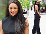 EXCLUSIVE  - FAO MAIL ONLINE - GBP 40 PER PICTURE\n Mandatory Credit: Photo by Buzz Foto/REX Shutterstock (4893128r)\n Ciara\n Ciara cell phone photo shoot in Soho, New York, America - 02 Jul 2015\n \n