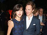 LONDON, ENGLAND - JULY 02:  Sophie Hunter (L) and Benedict Cumberbatch attend The Serpentine Gallery summer party at The Serpentine Gallery on July 2, 2015 in London, England.   Pic Credit: Dave Benett