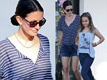 Courteney Cox takes daughter Coco on a shopping spree in Malibu July 2, 2015 X17online.com