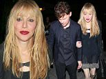 West Hollywood, CA - Singer, Courtney Love, arrived at Craig's Restaurant with a young man who she had her arm around.  She was seen in a black jacket, black knit dress, ankle-tie heels, and a black handbag.\nAKM-GSI          July 2, 2015\nTo License These Photos, Please Contact :\nSteve Ginsburg\n(310) 505-8447\n(323) 423-9397\nsteve@akmgsi.com\nsales@akmgsi.com\nor\nMaria Buda\n(917) 242-1505\nmbuda@akmgsi.com\nginsburgspalyinc@gmail.com