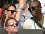 LONDON, ENGLAND - JULY 02:  Seal attends the Dustin Brown v Rafael Nadal match on day four of the Wimbledon Tennis Championships at Wimbledon on July 2, 2015 in London, England.  (Photo by Karwai Tang/WireImage)