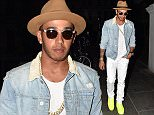 Formula 1 champion Lewis Hamilton leaves Boujis nightclub after celebrating his win at the british grand prix. The world champion spent 4 hours drinking Dom Prignon champagne with friends before heading home for well deserved rest.  Pictured: Lewis Hamilton Ref: SPL1063710  060715   Picture by: W8 Media / Splash News  Splash News and Pictures Los Angeles: 310-821-2666 New York: 212-619-2666 London: 870-934-2666 photodesk@splashnews.com