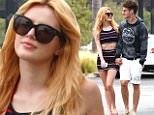 eURN: AD*174522681  Headline: Bella Thorne and boyfriend Gregg Sulkin are seen holding hands as they go out for brunch in Malibu Caption: 139617, Bella Thorne and boyfriend Gregg Sulkin are seen holding hands as they go out for brunch in Malibu. Malibu, California - Sunday June 5, 2015. Photograph: © PacificCoastNews. Los Angeles Office: +1 310.822.0419 sales@pacificcoastnews.com FEE MUST BE AGREED PRIOR TO USAGE Photographer: PacificCoastNews Loaded on 05/07/2015 at 21:39 Copyright:  Provider: PacificCoastNews  Properties: RGB JPEG Image (25313K 1747K 14.5:1) 2400w x 3600h at 300 x 300 dpi  Routing: DM News : GeneralFeed (Miscellaneous) DM Showbiz : SHOWBIZ (Miscellaneous) DM Online : Online Previews (Miscellaneous), CMS Out (Miscellaneous)  Parking:
