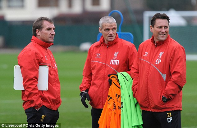 Rodgers (left) sacked his two assistants Colin Pascoe (right) and Mike Marsh this summer
