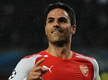 Mikel Arteta - Arsenal v Anderlecht - UEFA Champions League group stage