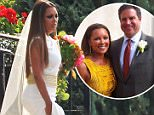Picture Shows: Vanessa Williams  July 05, 2015\n \n ** Min web / Online fee £500 For Set **\n \n Singer and actress Vanessa Williams marries Jim Skrip in Buffalo, New York. Pictured is Vanessa, Jim, Vanessa's daughters who were also her maids of honor, Vanessa's mother, Father Edward Beck (priest who performed the wedding), and Jim's family.  Also pictured are general views of St Stanislaus Roman Catholic church and the wedding reception hall.\n \n EXCLUSIVE All Rounder\n \n ** Min web / Online fee £500 For Set **\n \n UK RIGHTS ONLY\n FameFlynet UK © 2015\n Tel : +44 (0)20 3551 5049\n Email : info@fameflynet.uk.com
