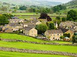 C52A8G Kettlewell, Yorkshire Dales National Park, UK