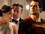 "Caption: (L-r) GAL GADOT as Diana Prince/Wonder Woman and BEN AFFLECK as Bruce Wayne/Batman in Warner Bros. Pictures' action adventure ""BATMAN v SUPERMAN: DAWN OF JUSTICE,"" a Warner Bros. Pictures release."