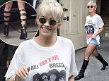 PARIS, FRANCE - JULY 07:  Rita Ora attends the Chanel show as part of Paris Fashion Week: Haute Couture Fall/Winter 15/16: Day Three on July 7, 2015 in Paris, France.  (Photo by Jacopo Raule/GC Images)