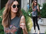 Picture Shows: Nicole Trufino  July 07, 2015\n \n Australian model Nicole Trunfio steps out with a bottle of spring water in New York City, New York.\n \n Nicole is on a mission to normalize breast feeding, as she appeared on the cover of Elle Australia's June issue doing just that with her newborn son Zion.\n \n Non Exclusive\n UK RIGHTS ONLY\n \n Pictures by : FameFlynet UK © 2015\n Tel : +44 (0)20 3551 5049\n Email : info@fameflynet.uk.com