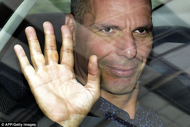 Announcing his immediate resignation in a blog post that ended with Varoufakis claiming he will 'wear the creditors' loathing with pride', he revealed that Greece's Prime Minister Alexis Tsipras had judged that his leaving the job 'might help achieve a deal'