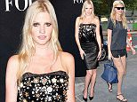 PARIS, FRANCE - JULY 07:  Lara Stone  is seen arrving at Chanel Fashion Show during Paris Fashion Week : Haute Couture Fall/Winter 15/16 : Day Three on July 7, 2015 in Paris, France.  (Photo by Jacopo Raule/GC Images)
