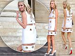 Picture Shows: Nicky Hilton  July 05, 2015\n \n Stars attend the Versace show at Paris Fashion Week in Paris, France.\n \n Non Exclusive\n WORLDWIDE RIGHTS - NO POLAND\n \n Pictures by : FameFlynet UK © 2015\n Tel : +44 (0)20 3551 5049\n Email : info@fameflynet.uk.com