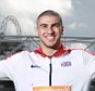 EDITORIAL USE ONLY European 200m Champion Adam Gemili announces his participation in the Sainsbury's Anniversary Games that will be taking place at the Queen Elizabeth Olympic Park from the 24th - 26th of July, during a photocall at Formans Fish Island in east London, which overlooks the former Olympic Stadium. PRESS ASSOCIATION Photo. Picture date: Wednesday April 29, 2015. The Sainsburyís Anniversary Games take place just four weeks before the IAAF World Athletics Championships in Beijing. The meeting will provide an important yardstick for Gemili and Britainís top athletes as they prepare to compete for medals in China. Photo credit should read: Matt Alexander/PA Wire