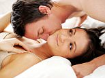 A1ENH6 Romantic couple in bedroom
