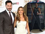 """HOLLYWOOD, CA - JUNE 25:  Actors Joe Manganiello (L) and Sofia Vergara attend the premiere of Warner Bros. Pictures' """"Magic Mike XXL"""" at TCL Chinese Theatre IMAX on June 25, 2015 in Hollywood, California.  (Photo by Frederick M. Brown/Getty Images)"""