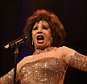 Musician Shirley Bassey performs onstage at the 2015 amfAR New York Gala at Cipriani Wall Street in New York City, America.     NEW YORK, NY - FEBRUARY 11:   (Photo by Larry Busacca/Getty Images)