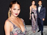 PARIS, FRANCE - JULY 06:  Chrissy Teigen and John Legend attend the Vogue Paris Foundation Gala at Palais Galliera on July 6, 2015 in Paris, France.  (Photo by Julien Hekimian/Getty Images)