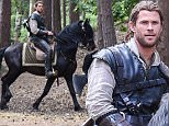 EXCLUSIVE FAO DAILY MAIL ONLINE FEE AGREED\n Mandatory Credit: Photo by Joan Wakeham/REX Shutterstock (4896990z)\n Chris Hemsworth as the Huntsman, filming in a woodland setting on the outskirts of London\n 'The Huntsman' on set filming, London, Britain - 06 Jul 2015\n \n