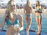 EXCLUSIVE ALL ROUNDER Kimberley Garner is seen enjoying the sunshine in southern France\nPlease byline: Vantagenews.co.uk