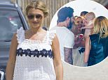 Picture Shows: Billie Faiers  July 07, 2015    'The Only Way Is Essex' cast seen filming for Nellie Shepard's 1st birthday at PeaPod Cafe in Billericay, Essex.    Non-Exclusive  WORLDWIDE RIGHTS    Pictures by : FameFlynet UK � 2015  Tel : +44 (0)20 3551 5049  Email : info@fameflynet.uk.com