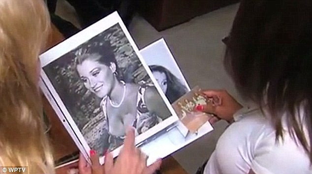 Speaking up:'I took them, didn't know what they were didn't even ask. I just was intimidated I guess and I took them,' Serignese (above pictured as a teenager) said in an interview last year