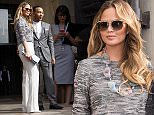 Paris Fashion Week - Georgio Armani - Arrivals\nFeaturing: Chrissy Teigen, John Legend\nWhere: Paris, France\nWhen: 07 Jul 2015\nCredit: WENN.com\n**Not available for publication in France**