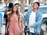 Pictured: Cody Simpson Mandatory Credit © Bella/Broadimage ***EXCLUSIVE*** Cody Simpson spotted out for some shopping with Mystery Girl in West Hollywood  7/7/15, West Hollywood, California, United States of America  Broadimage Newswire Los Angeles 1+  (310) 301-1027 New York      1+  (646) 827-9134 sales@broadimage.com http://www.broadimage.com