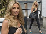 7 July 2015 - EXCLUSIVE. Katie Price pictured leaving the London Studios today. *** EXCLUSIVE *** Credit: Andy Oliver/GoffPhotos.com   Ref: KGC-143 *Exclusive to GoffPhotos.com - Newspapers Allrounder - Mags Double Space Rates - Web/Online Must Call Before Use**