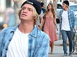 Pictured: Cody Simpson..Mandatory Credit © Bella/Broadimage..***EXCLUSIVE***..Cody Simpson spotted out for some shopping with Mystery Girl in West Hollywood....7/7/15, West Hollywood, California, United States of America....Broadimage Newswire..Los Angeles 1+  (310) 301-1027..New York      1+  (646) 827-9134..sales@broadimage.com..http://www.broadimage.com..
