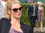 July 08, 2015    Josh Hartnett and pregnant Tamsin Egerton seen arriving at Wimbledon Tennis in London.    Non Exclusive  Worldwide Rights  Pictures by : FameFlynet UK © 2015  Tel : +44 (0)20 3551 5049  Email : info@fameflynet.uk.com