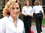 "Picture Shows: Jennifer Lopez  July 08, 2015\n \n Actress Jennifer Lopez films a scene for her new TV show ""Shades of Blue"" in Queens, New York.\n \n Non-Exclusive\n UK RIGHTS ONLY\n \n Pictures by : FameFlynet UK © 2015\n Tel : +44 (0)20 3551 5049\n Email : info@fameflynet.uk.com"