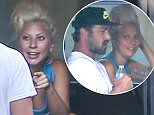 EXCLUSIVE: Lady Gaga and Taylor Kinney seen in Montreux.  Pictured: Lady Gaga and Taylor Kinney Ref: SPL1071275  060715   EXCLUSIVE Picture by: Splash News  Splash News and Pictures Los Angeles: 310-821-2666 New York: 212-619-2666 London: 870-934-2666 photodesk@splashnews.com