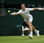 Wimbledon 2015 tennis championships, Wimbledon, London Picture Andy Hooper Daily Mail/ Solo Syndication Day 9 Vasek Pospisil v Andy Murray Pic Shows   Andy Murray