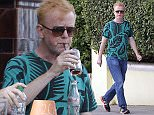 LONDON, ENGLAND - JULY 07: (EXCLUSIVE COVERAGE) Chris Evans is seen taking a stroll and stopping off for an afternoon drink in Primrose Hill on July 7, 2015 in London, England.  (Photo by Ada/GC Images)