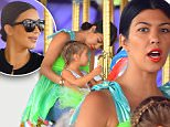 Newly Singl Kourtney kardashian and Pregnant Kim Kardashian celebrate Penelope disick's birthday at Disneyland. the girls were also joined by their mother Kris who had a great time on the dumbo ride. the group were also seen riding the alice in wonderland ride and the carousel\n\nPictured: Kim Kardashian, Kourtney Kardashian, North West, Penelope disick, Kris Jenner, Mason Disick\nRef: SPL1072689  080715  \nPicture by: Fern / Splash News\n\nSplash News and Pictures\nLos Angeles: 310-821-2666\nNew York: 212-619-2666\nLondon: 870-934-2666\nphotodesk@splashnews.com\n