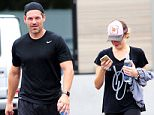 EXCLUSIVE FAO DAILY MAIL ONLY GBP 40 PER PICTURE  Mandatory Credit: Photo by Startraks Photo/REX Shutterstock (4897033a)  Eddie Cibrian and Leann Rimes  Leann Rimes and Eddie Cibrian leaving SoulCyle in Malibu, California, America - 06 Jul 2015