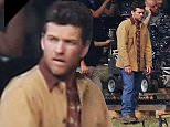 Picture Shows: Sam Worthington  July 06, 2015.. .. Actor Sam Worthington films a scene for his new movie 'The Shack' in Vancouver, Canada... .. The movie is about a grieving man who receives a mysterious, personal invitation to meet with God at a place called 'The Shack'... .. Non Exclusive.. UK RIGHTS ONLY.. .. Pictures by : FameFlynet UK © 2015.. Tel : +44 (0)20 3551 5049.. Email : info@fameflynet.uk.com