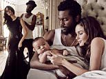 Love Story..Wed, Jul 8....Nicole Trunfio shares the lens for the first time with fiance Gary Clark Jnr and three month old son Zion Rain for the August 2015 issue of Harper's BAZAAR Australia.....Shot by David Mandelberg in Sydney, the Perth-born beauty spoke candidly with Jessica Matthews about her birth (no epidural for this supermodel mum), what it's like watching her rock star beau on stage and her 'internet-breaking' son.....