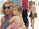 Elsa Pataky and daughter India Rose accompanied by her in-laws Classify Leonie and Craig Hemsworth seen at Adolfo Suarez Barajas airport before leaving Madrid.\n\nPictured: Elsa Pataky\nRef: SPL1072856  070715  \nPicture by: Splash News\n\nSplash News and Pictures\nLos Angeles: 310-821-2666\nNew York: 212-619-2666\nLondon: 870-934-2666\nphotodesk@splashnews.com\n