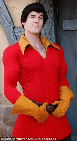 Devon Staples played Gaston from Beauty and the Beast at Disney World