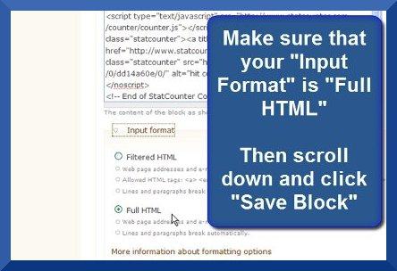 Drupal - Input Format