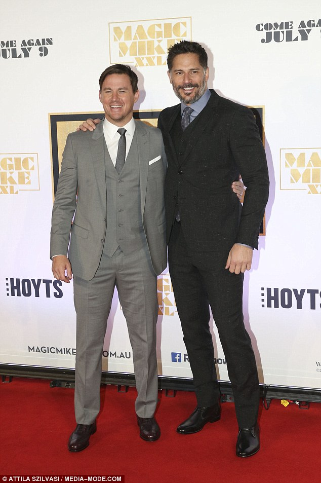 Australia did good! Magic Mike XXL stars Channing Tatum and Joe Manganiello took to Instagram on Monday night to thank Sydney for housing the film's biggest premiere in the Southern Hemisphere