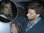 WORLD EXCLUSIVE\nALL ROUND PHOTO EXCLUSIVE\nThese Photos are Available  for Usage only to the following ........\nDaily Mail, daily Star, The Sun, Daily Mirror, Daily Express\nNEWSPAPERS PRINT  �3000 FOR SET \nINTERNET USAGE �1500 FOR SET\nWHO'S THAT GUY!\nCressida Bonas with NEW boyfriend !!!\nlast night i was at the one show waiting for Michael Douglass , he left the BBC Studios at 7.35 and i guessed he would go for dinner, previously i got pics of him at La Caprice many years ago so i drove there , got there at 7.58pm  and as i parked the car, at 8pm cressida arrived at La Caprice Restaurant  in Mayfair with the Mystery man , Walking down the street,gazing at each other ,HOLDING HANDS!\n they stayed in Restaurant for 2 and a Half Hours , as pics show Cressida tried her best to hide in car, but That made for the much better pic of the Mystery Man Cuddling Cressida showing the Closeness Between them!\nby looking at previous events online it looks like they met at the Art Antiques Lon