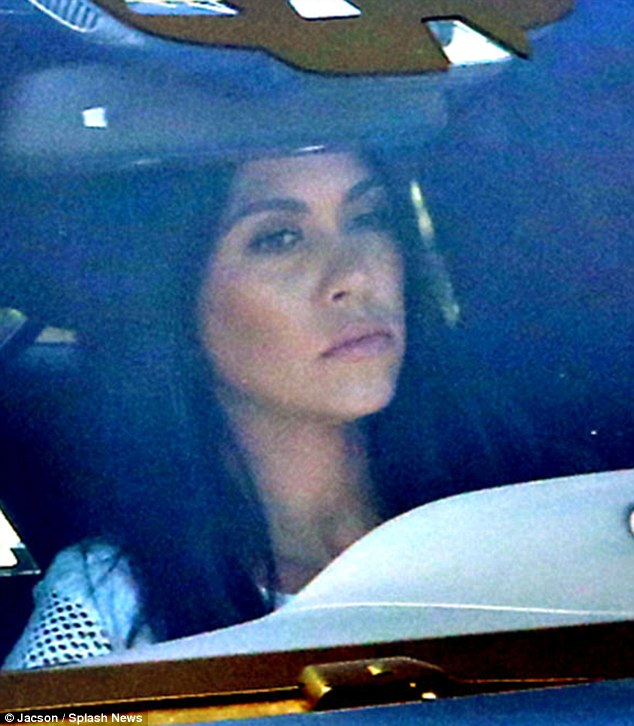 'Humiliated': Kourtney Kardashian emerged from her mother's Calabasas compound on Monday after dumping her partner of nine years Scott Disick