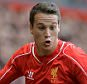 Liverpool's Javier Manquillo in action during a pre-season friendly soccer match between Liverpool and Borussia Dortmund held at Anfield, Liverpool, Britain, 10 August  2014.  EPA/PETER POWELL  epa04348290