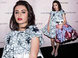 Mandatory Credit: Photo by REX Shutterstock (4899033g)\n Charli XCX\n Viktor and Rolf Flower Bomb 10th Anniversary party, Paris Fashion Week, France - 08 Jul 2015\n \n