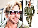 EXCLUSIVE: Mickey Rourke sports facial hair and a camouflage outfit.\n\nPictured: Mickey Rourke\nRef: SPL1074194  080715   EXCLUSIVE\nPicture by: KAT / Splash News\n\nSplash News and Pictures\nLos Angeles: 310-821-2666\nNew York: 212-619-2666\nLondon: 870-934-2666\nphotodesk@splashnews.com\n